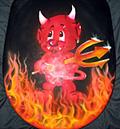Airbrush Teufel